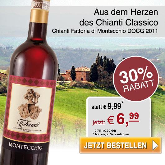 30% Rabatt Chianti aus dem Chianti Classico!