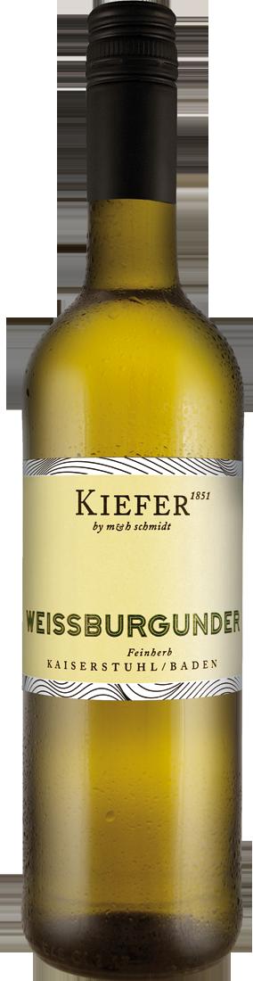 Weißwein Kiefer Weißburgunder feinherb QbA Bade...