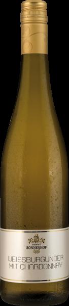 Sonnenhof Weißburgunder mit Chardonnay feinherb QbA