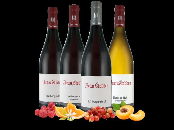Kennenlernpaket 4 Fl. Feine Weinauswahl Rotweingut Jean Stodden