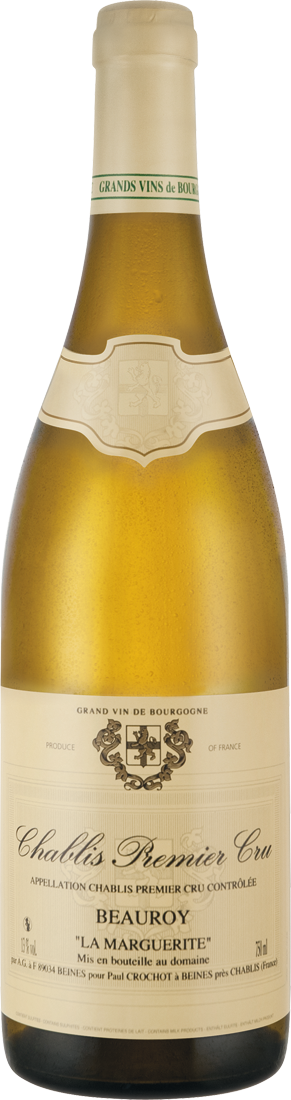 Weißwein Paul Crochot Chablis Premier Cru « Beauroy » La Marguerite AOC Burgenland 22,65€ pro l
