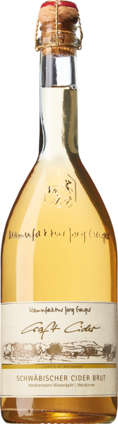 Manufaktur Jörg Geiger Schwäbischer Cider brut