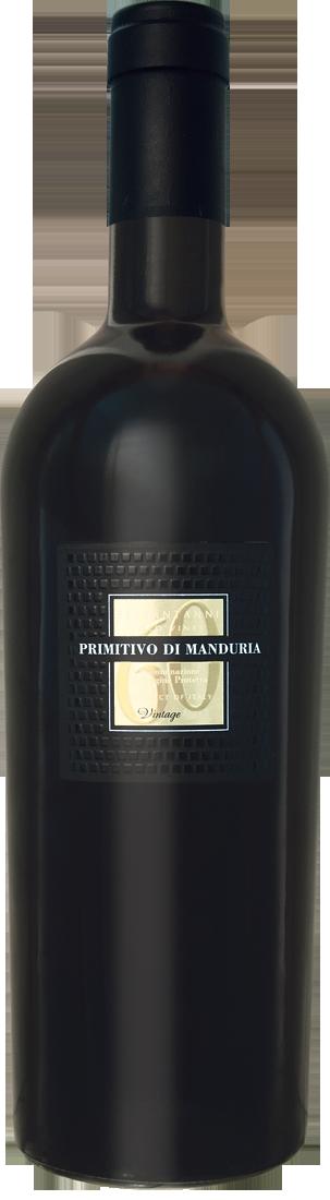 Rotwein Sessantanni Primitivo di Manduria DOC Apulien 25,32€ pro l