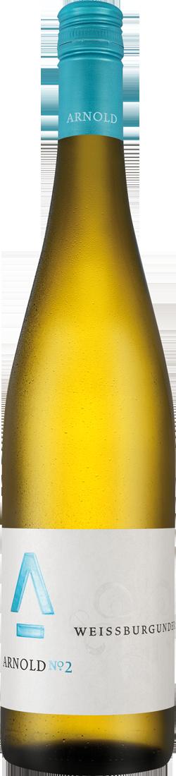 Weißwein Arnold Weißburgunder trocken QbA Pfalz...