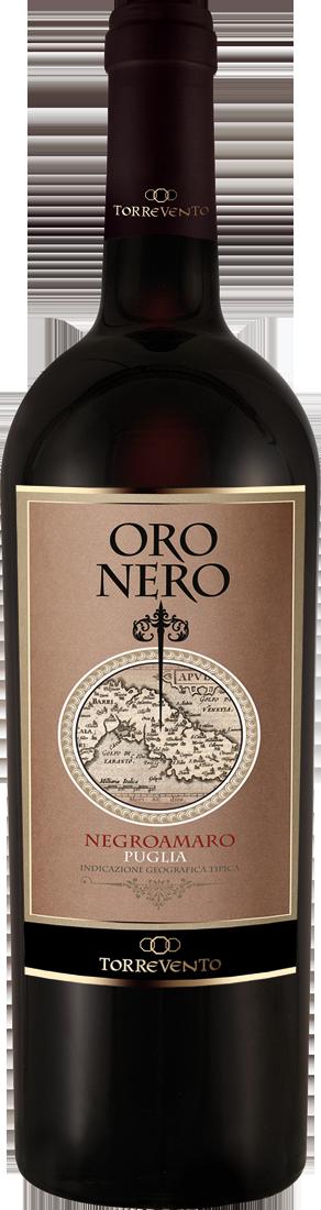 Rotwein Torrevento Negroamaro Oro Nero Puglia IGT Apulien 11,32? pro l