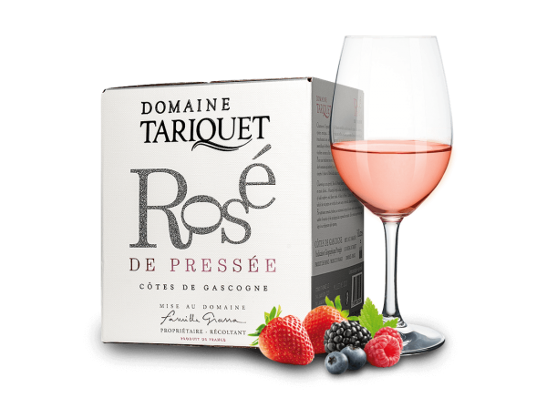 Domaine Tariquet Rosé de Pressée 3l BIB