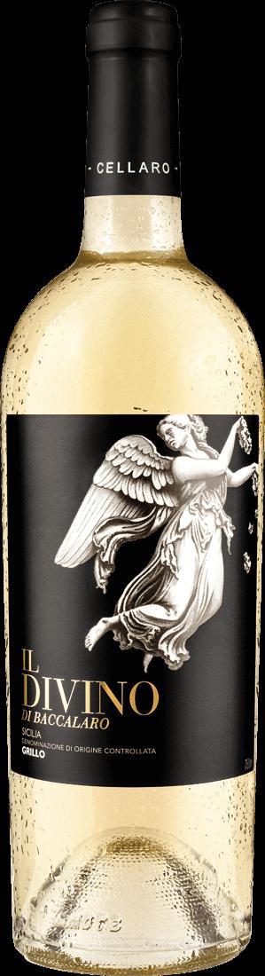 Weißwein Farnese Grillo Il Divino Terre Siciliane IGT Sizilien 7,99? pro l