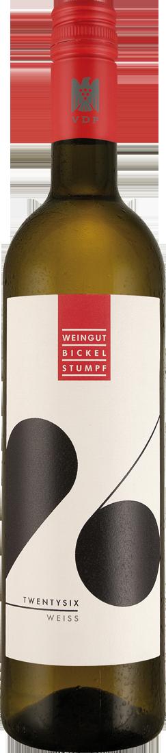Weißwein Bickel-Stumpf TWENTYSIX weiß VDP.Gutswein Franken 12,79? pro l