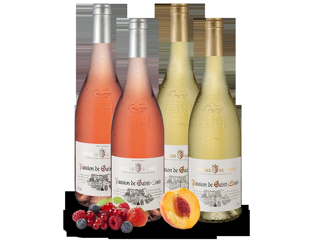 Kennenlernpaket Weiß- & Roséweine Joseph Castan aus Südfrankreich mit je zwei Flaschen7,97? pro l