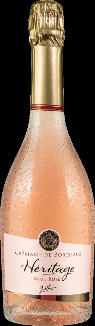 Roséwein Jaillance Crémant de Bordeaux Rosé Brut Cuvée de lAbbaye Bordeaux 15,59? pro l