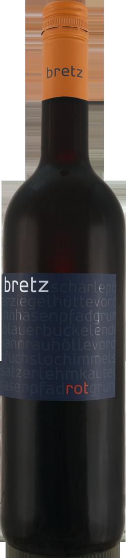 Rotwein Ernst Bretz rot trocken QbA Rheinhessen 11,32? pro l