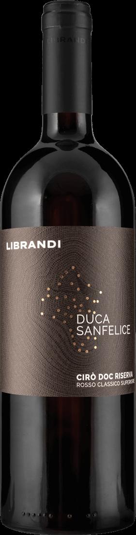 Rotwein Librandi Duca San Felice Riserva Kalabrien 11,32€ pro l