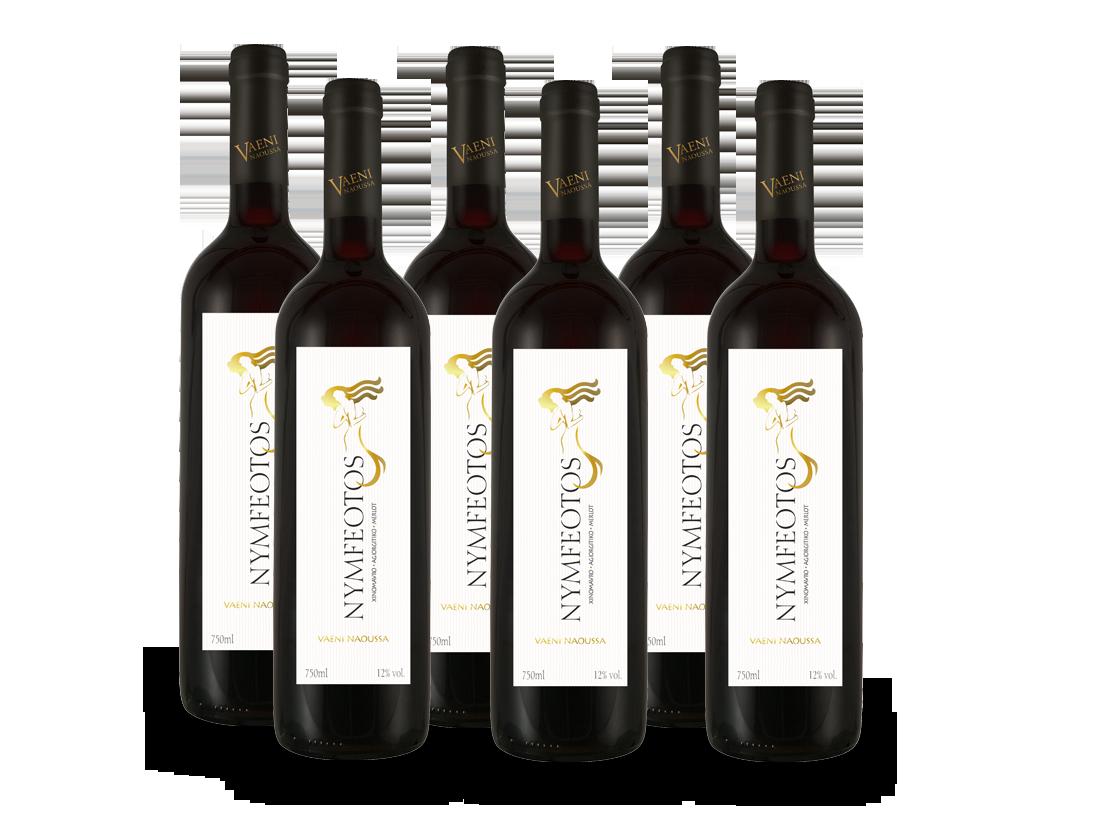 Vorteilspaket 6 Fl. Vaeni Naoussa Nymfeotos Griechischer Wein8,89€ pro l