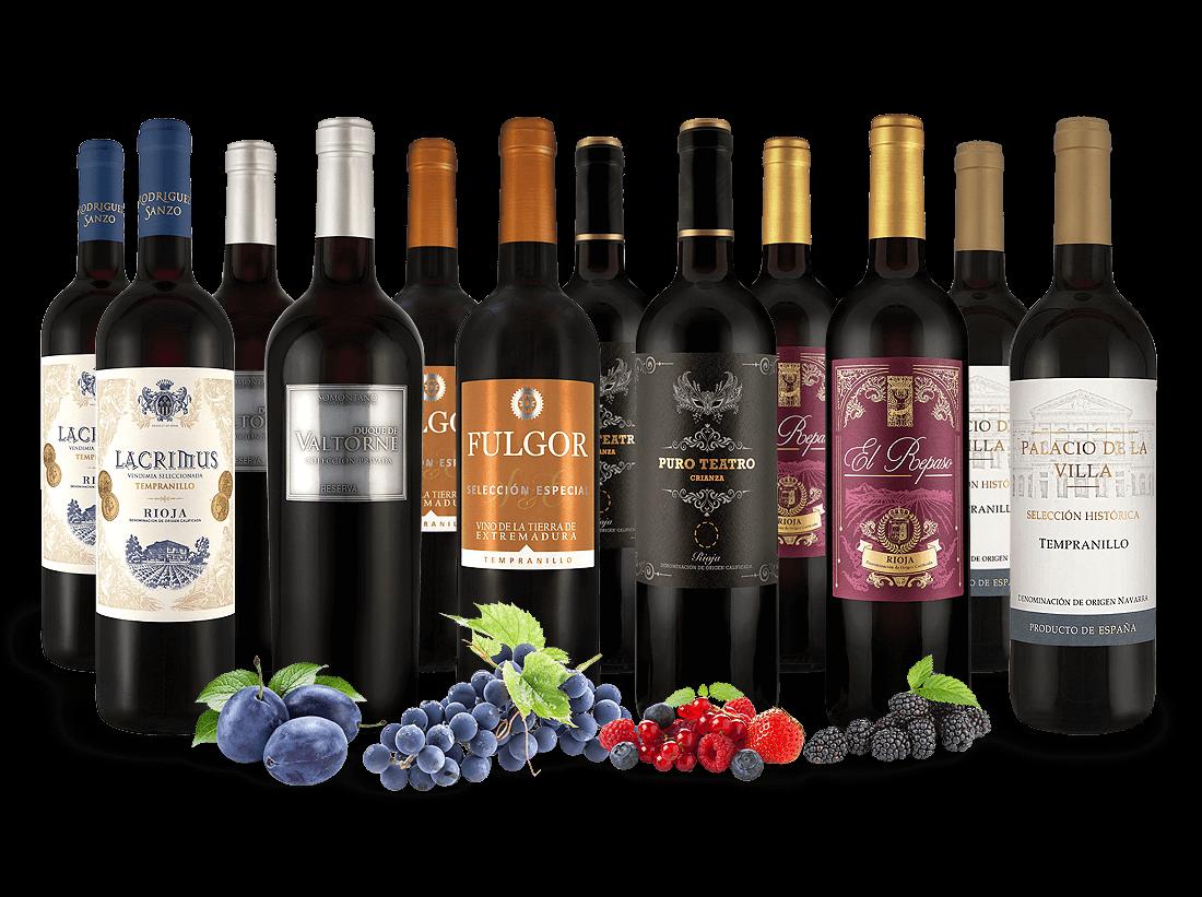 Spanisches Rotwein-Topseller-Probierpaket7,22? pro l