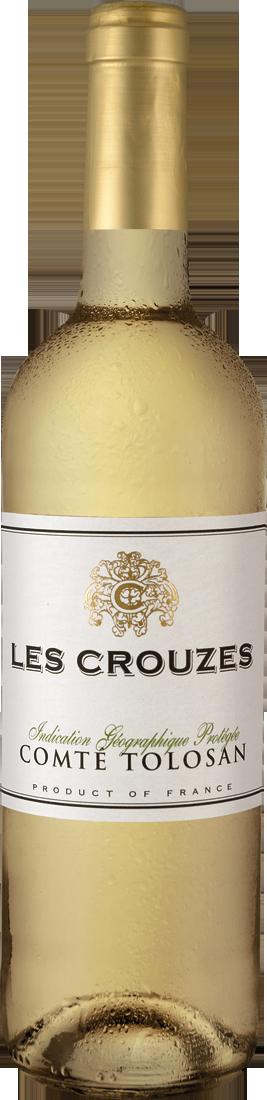 Weißwein Ugni Blanc-Colombard Les Crouzes Blanc IGP Gascogne 6,65€ pro l