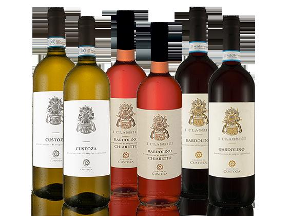 Cantina di Custoza Gardasee Wein-Probierpaket7,...