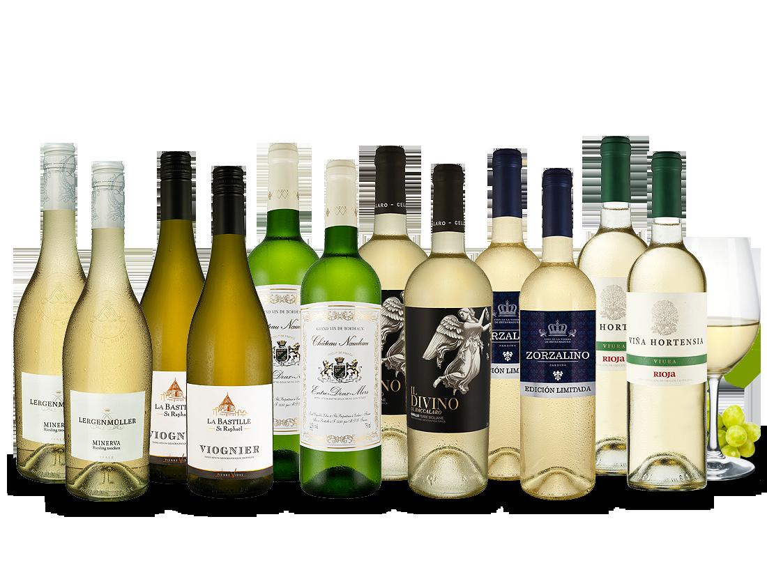 Weißwein Topseller des Jahres Probierpaket7,21? pro l
