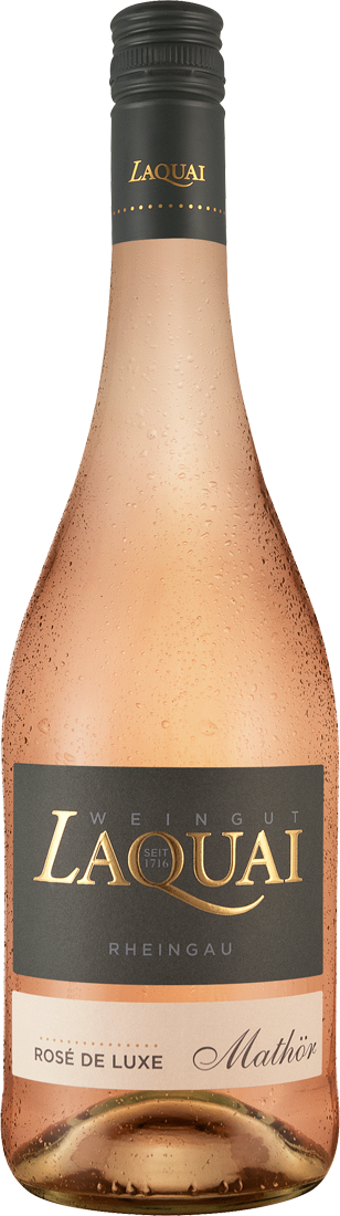 Roséwein Laquai Rosé de luxe Mathör Rheingau 10,65€ pro l