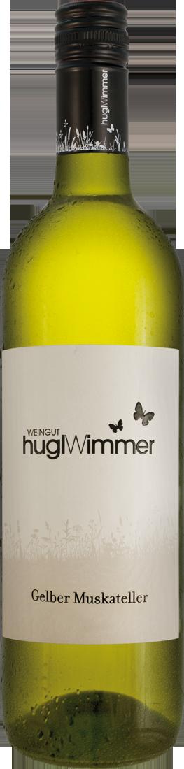 Weißwein Hugl-Wimmer Gelber Muskateller Niederösterreich 9,32? pro l