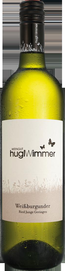 Weißwein Hugl-Wimmer Weißburgunder Junge Geringen lieblich Weinviertel 11,32? pro l