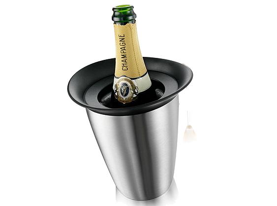 Vacu Vin Aktiv Champagnerkühler Elegant Edelstahl