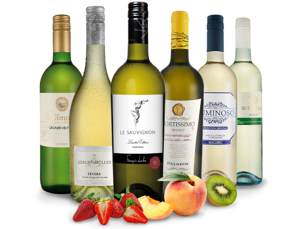 Probierpaket Exzellente Weißwein-Selektion