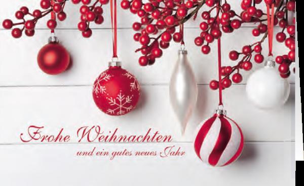 Grußkarte Vorfreude auf Weihnachten