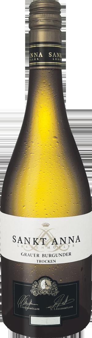 Weißwein Sankt Annaberg Lergenmüller Grauer Burgunder Anna Pfalz 11,99€ pro l