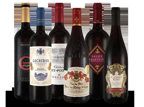 Probierpaket Rotwein-Saisonpaket8,87€ pro l