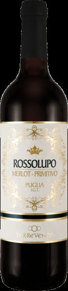 Torrevento Merlot Primitivo Rossolupo Puglia IGT