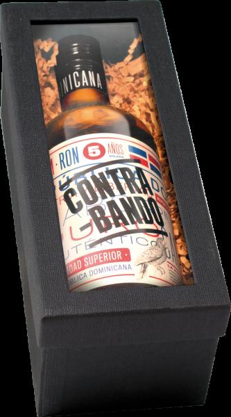 Präsent Contrabando Rum in edler Präsentschachtel