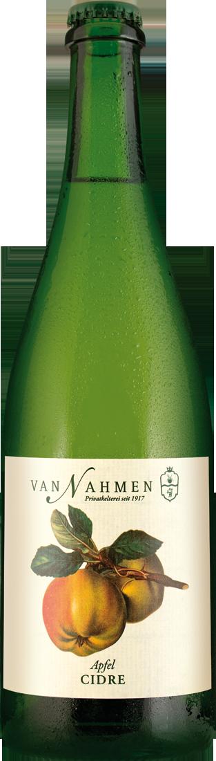 Weißwein Van Nahmen Cidre secco - trockener Apfelcidre Rheinhessen 5,99€ pro l