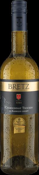 Bretz Chardonnay im Barrique