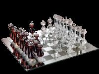 Mazzetti d'Altavilla Scacchiera Reale 'Spiel der Könige' - Schachspiel mit Grappa
