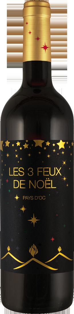 Rotwein Joseph Castan Les 3 Feux de Noël Languedoc 7,05€ pro l