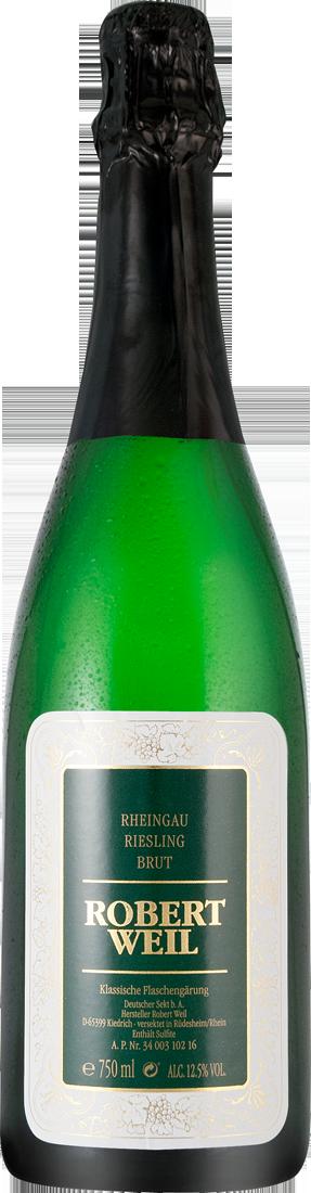 Weißwein Robert Weil Riesling Sekt Brut Rheingau 26,53? pro l