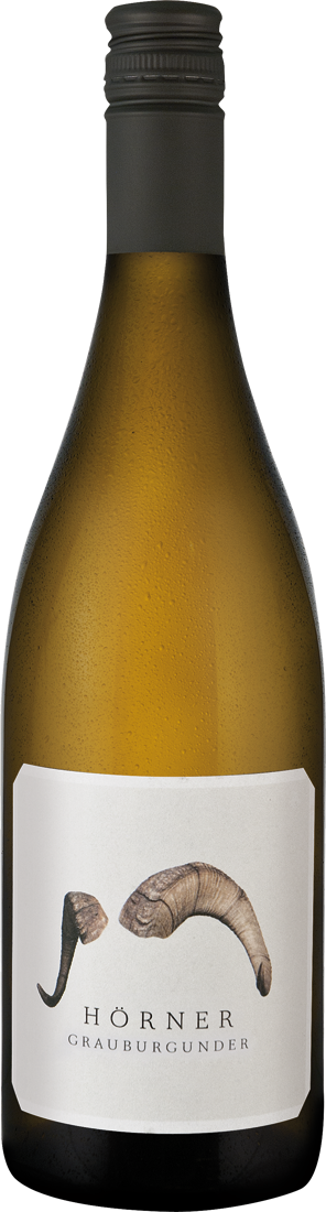 Weißwein Hörner Grauburgunder Widder Pfalz 20,6...