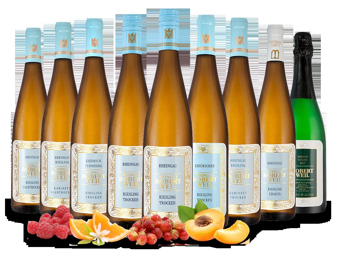 Kennenlernpaket Weingut Robert Weil Rheingau Rieslinge19,11? pro l