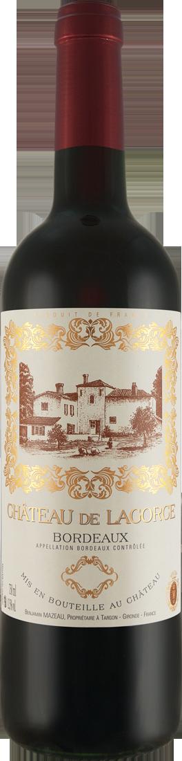 Rotwein Château de Lagorce Bordeaux Rouge AOC Bordeaux 8,65€ pro l