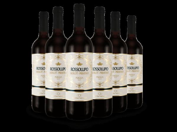 Vorteilspaket Rossolupo Puglia IGT mit 6 Flaschen