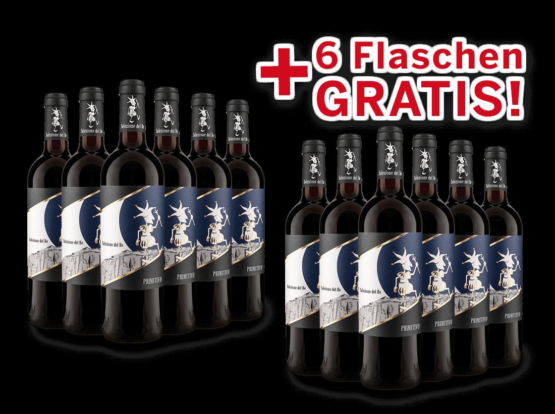 Vorteilspaket 12 für 6 Torrevento Primitivo Selezione del Re8,32? pro l