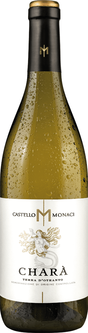 Weißwein Castello Monaci Charà Chardonnay Salento IGT Apulien 11,32? pro l