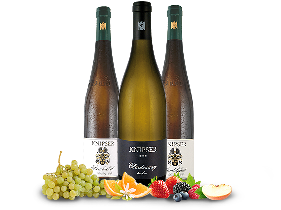 Kennenlernpaket Weingut Knipser aus der Pfalz 3Fl. Große Weißweine33,29? pro l