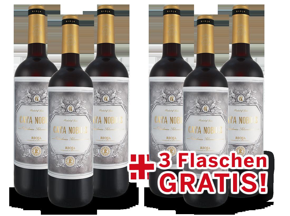 Vorteilspaket 6 für 3 Bodegas Nubori Rioja Cata Nobilis8,66? pro l