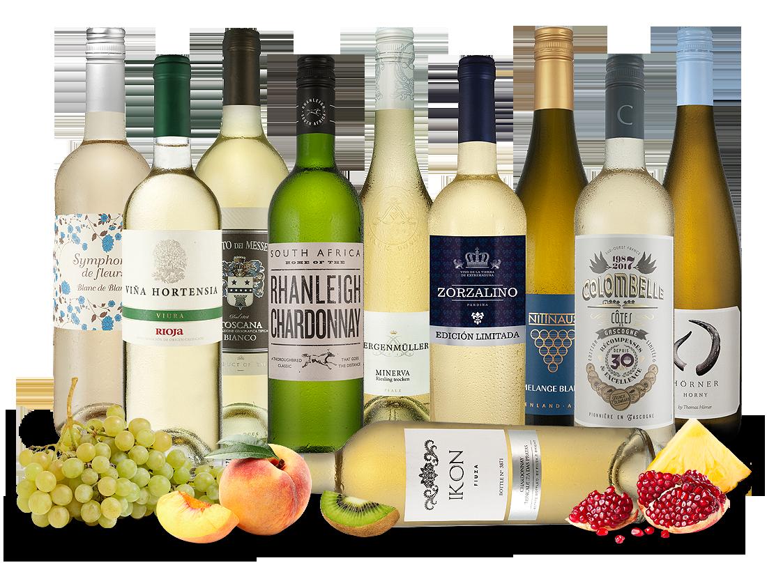 Probierpaket Weißweine aus aller Welt8,00€ pro l