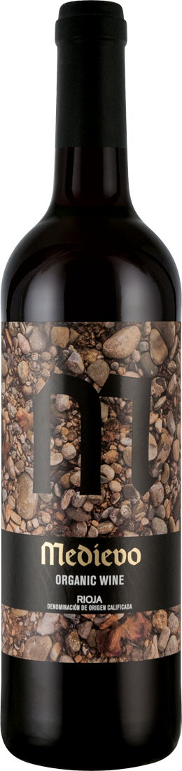 Rotwein Bodegas del Medievo Rioja Tempranillo Organic Wine D.O.C. Rioja 7,72€ pro l