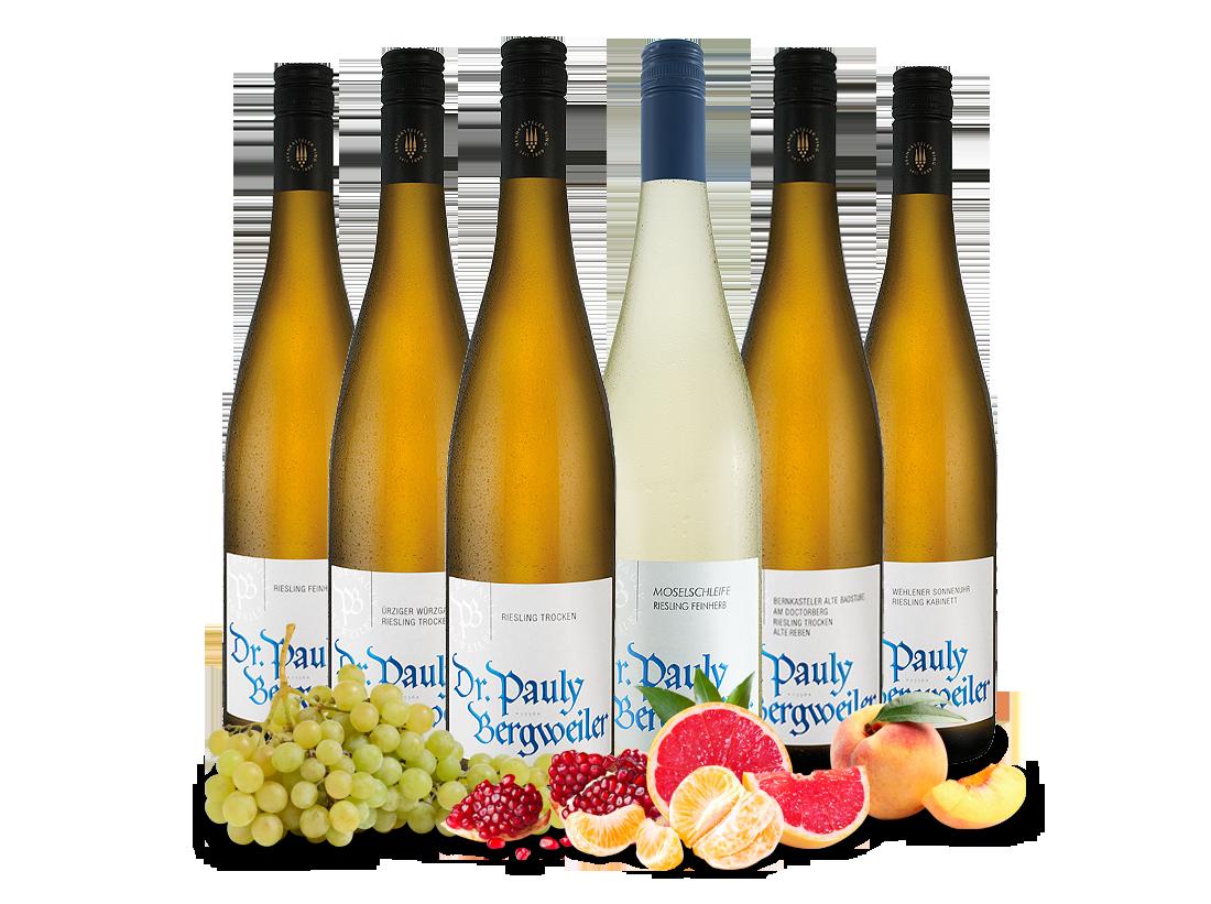 Kennenlernpaket vom Weingut Dr. Pauly-Bergweiler von der Mosel11,09? pro l