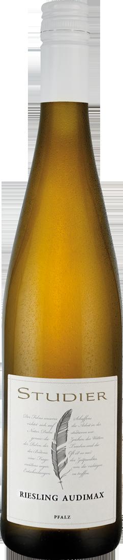 Weißwein Studier Riesling Audimax feinherb QbA Pfalz 10,53€ pro l