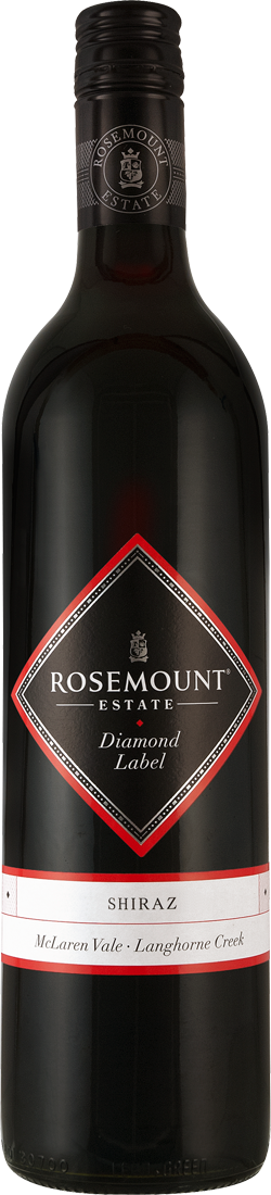 Rotwein Rosemount Shiraz Diamond Label South Ea...