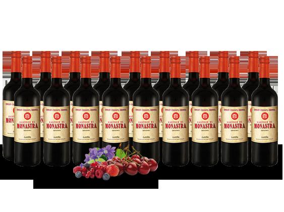 Vorteilspaket 18 Flaschen Castillo de Monastra Monastrell Edición Exclusiva D.O.13,32€ pro l